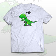 Kids T-shirt Running Dino - Rawr! means I love you