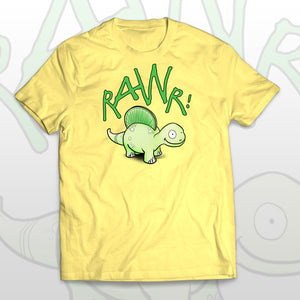 Cute kids T-shirt Smiling Dino