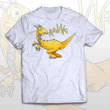 Cute kids dinosaur T-shirt Thinking dino - Raw! means I love you