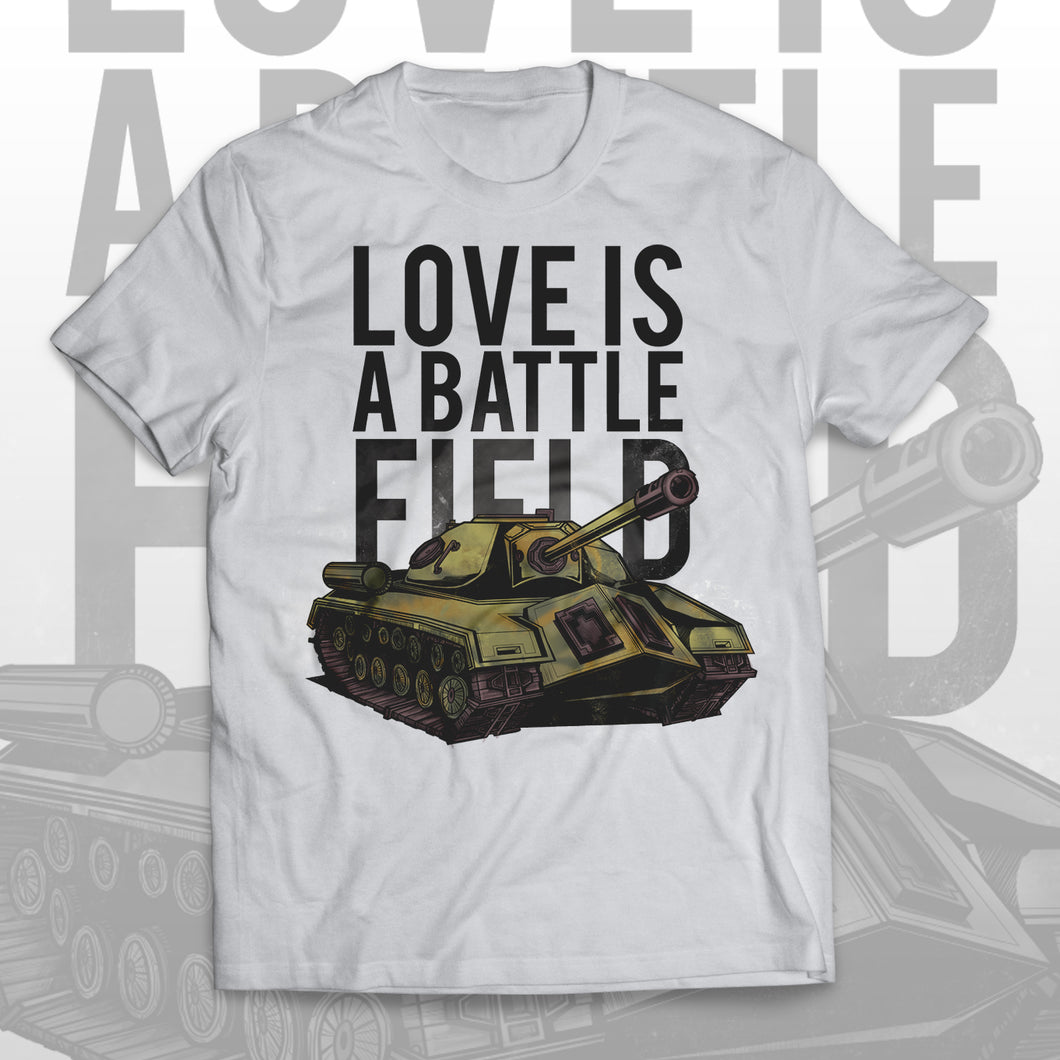 T-shirt LOVE IS A BATTLEFIELD