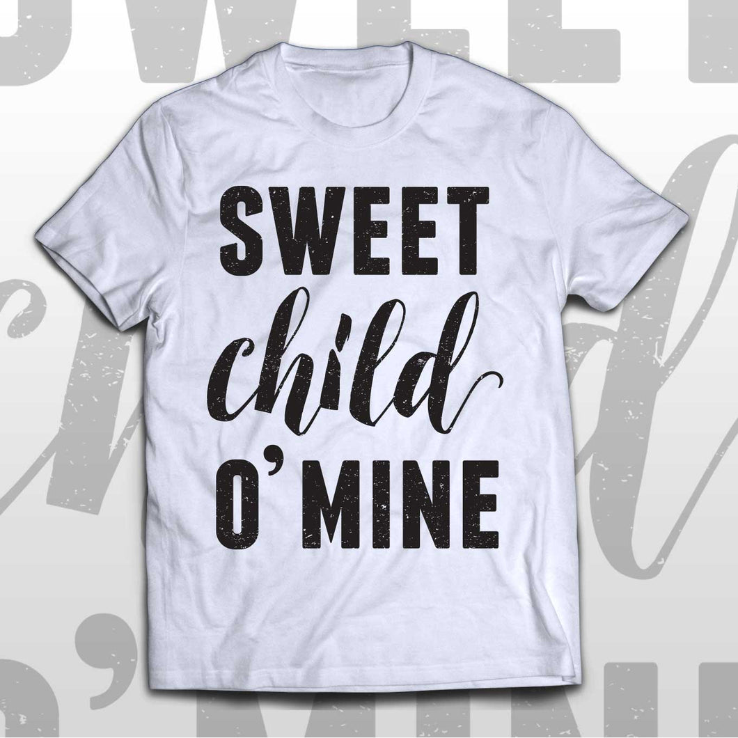 Kids Guns N' Roses T-shirt Sweet child O'mine
