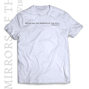 Virginia Woolf T-shirt Books are the mirrors of the soul