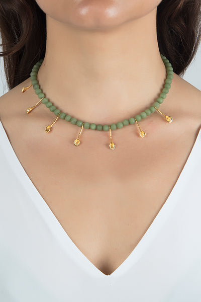 Symi Necklace in Mint
