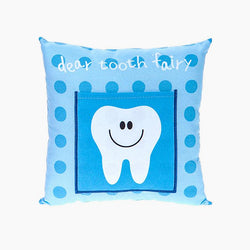 Boys Tooth Fairy Money Pillow Cushion