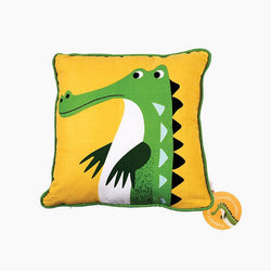 Harry The Crocodile Cushion
