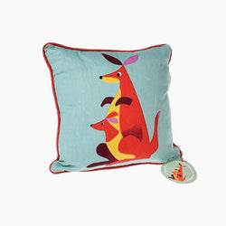 Colourful Kangaroo Cushion