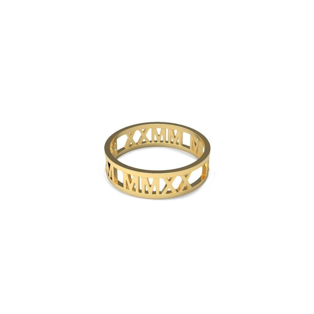 Gold Black Lives Matter Ring - IRIS 1956