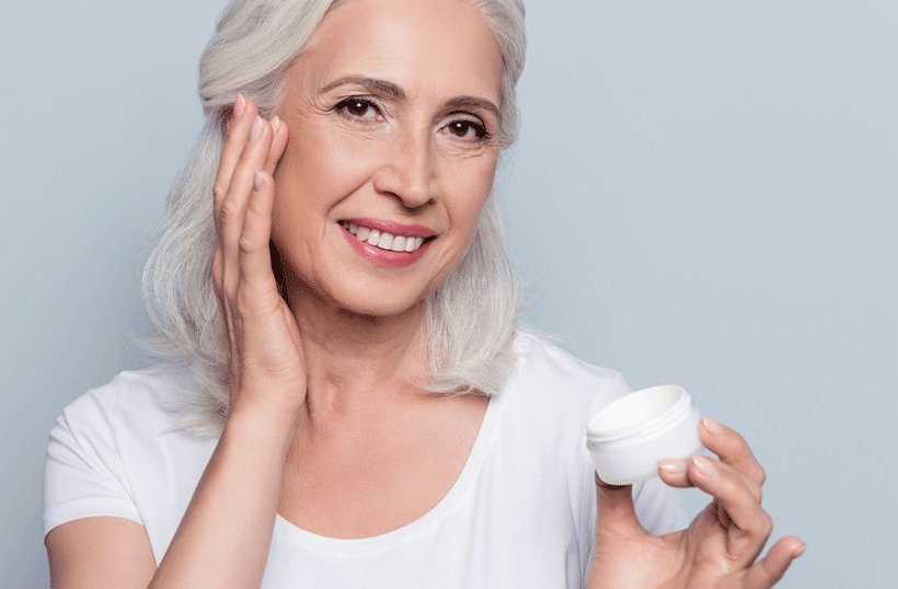 Anti-aging care for blemished skin