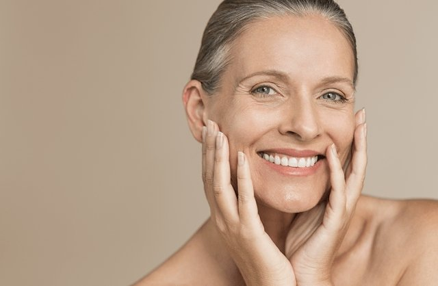 The right facial care for mature skin over 50