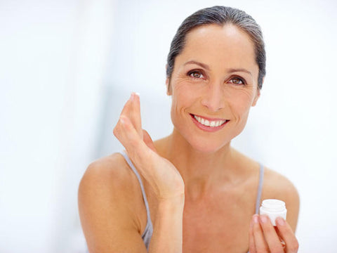 Mature skin facial care