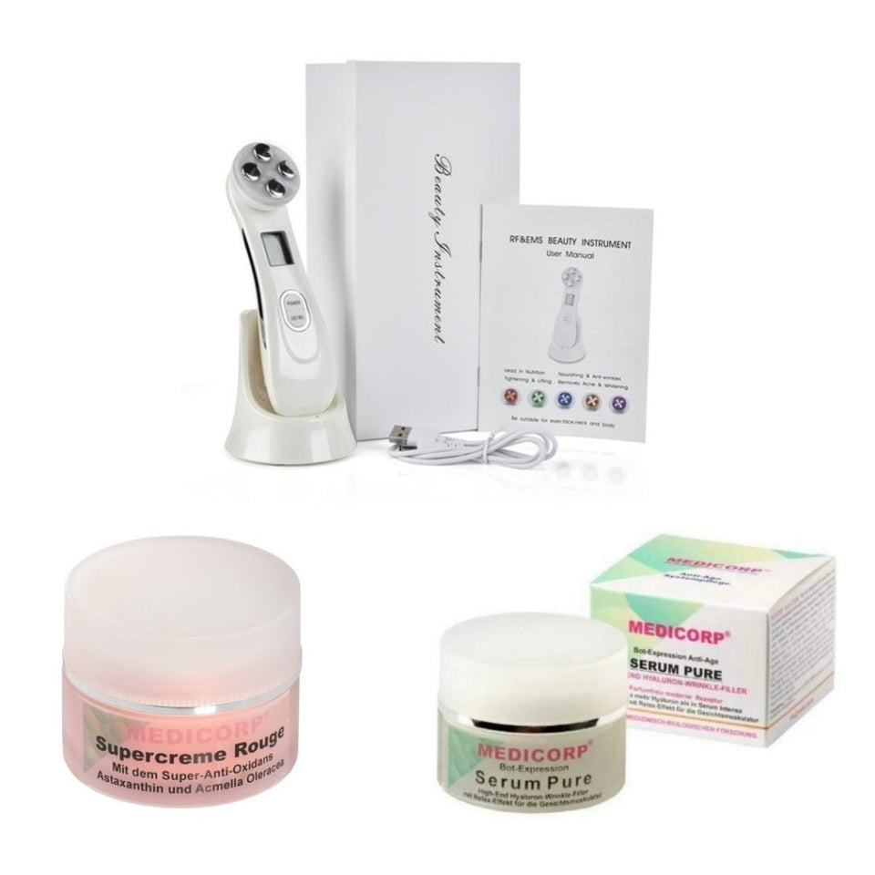EMS skin care device VIP Set - Beauty-Outlet24