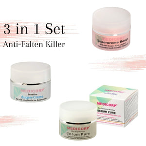 MEDICORP ANTI-WRINKLE SET FOR MATURE SKIN - Beauty-Outlet24