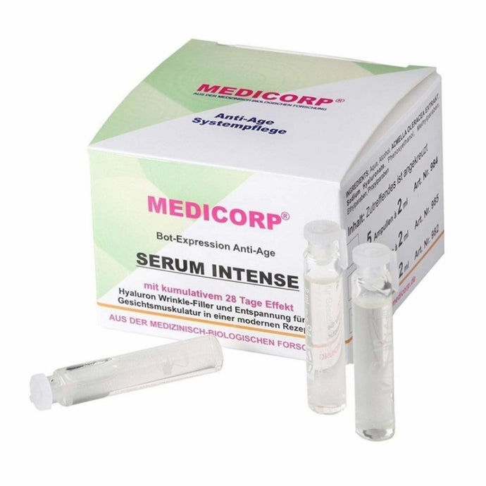 MEDICORP HYALURON AMPULLEN - Beauty-Outlet24