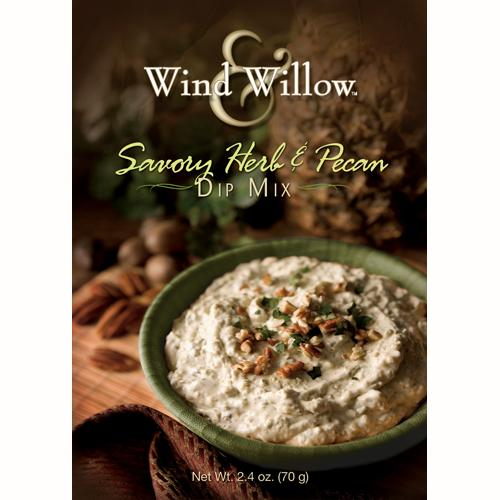 Wind & Willow | Savory Herb & Pecan Dip Mix