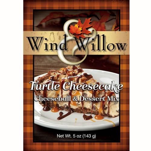 Wind & Willow | Turtle Cheesecake Cheeseball & Dessert Mix