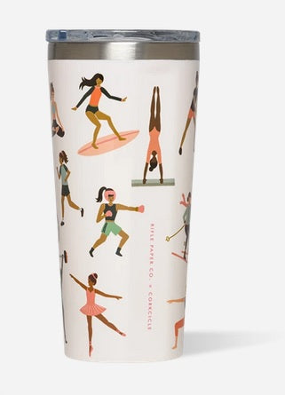 Rifle Paper Co. Sports Girls Tumbler, 16 oz