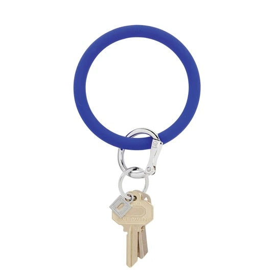 Oventure Big O Silicone Key Ring, Blue Me Away