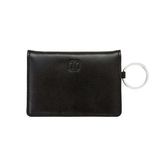 Oventure Ossential Leather ID Case, Back in Black