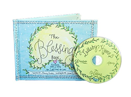 Books | The Blessing Book Baby Gift (Christian Baby Book with Lullaby CD) by Nancy Gordon