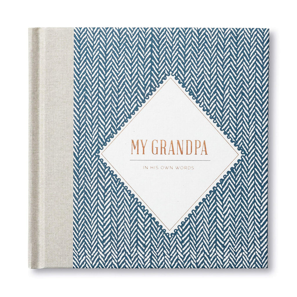 My Grandpa: In His Own Words — A keepsake interview book