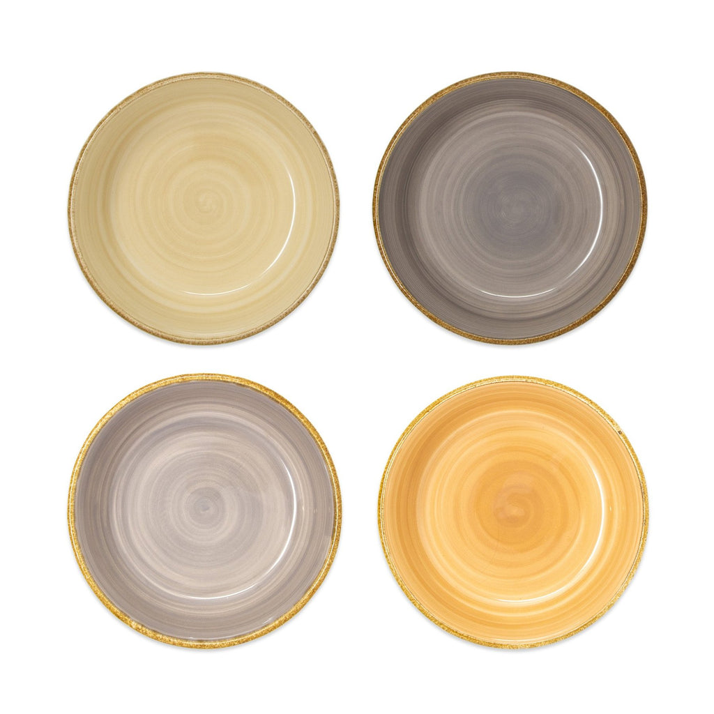 VIETRI | Earth Assorted Small Bowls, Set of 4