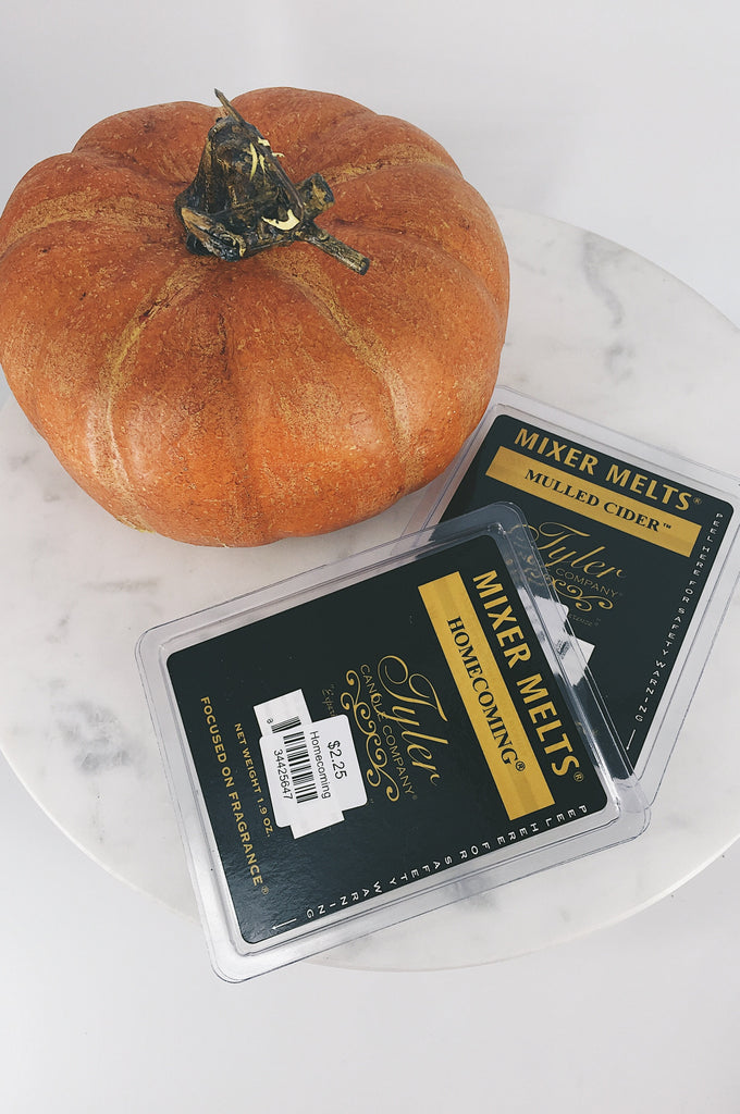 Tyler Mixer Melts, Fall Scents