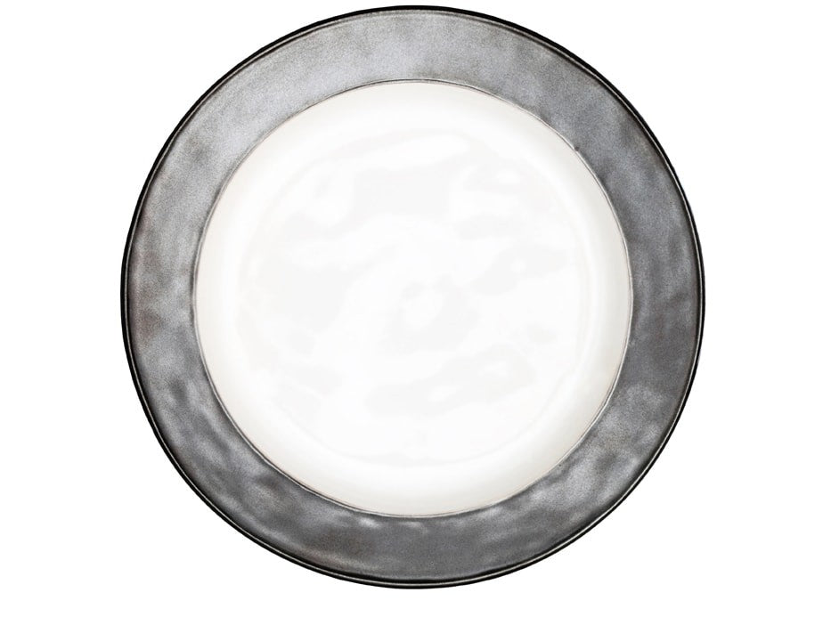 Juliska | Emerson White/Pewter Dinner Plate