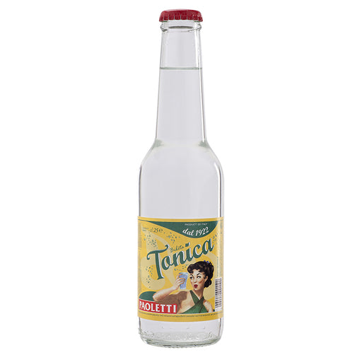 Paoletti Tonic Water, Soft Drink, Made in Italy, 8.4 fl oz | 260 mL