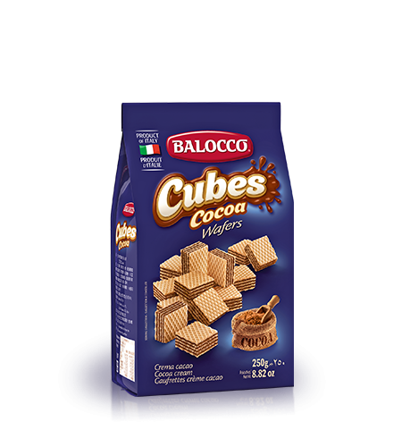Balocco Wafers Cocoa, 8.8 oz - 250g