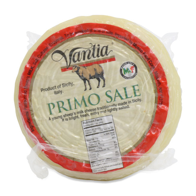 Vantia Plain Primo Sale Cheese, 16 oz