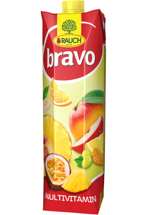 Rauch Bravo Multivitamin Juice, 1 Liter - 1000 ml