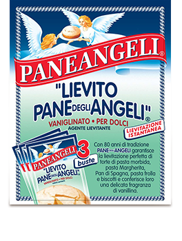 Paneangeli Yeast for Cake, Instant Italian Yeast for Sweets, 1 Bag, 3 Packs