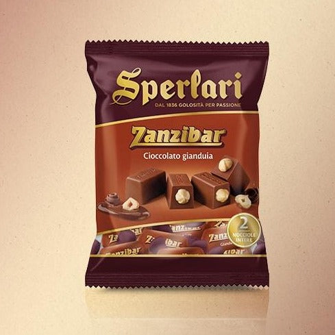 Sperlari Zanzibar Classic Gianduia Chocolate Mini, 4.58 oz