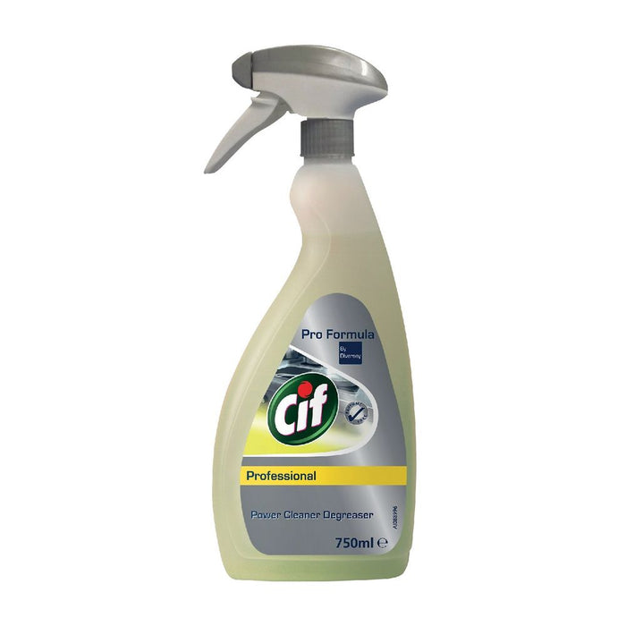 Cif Professional Power Cleaner Degreaser, 25.36 oz | 750ml