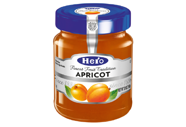 Hero Apricot Fruit Spread 12 oz