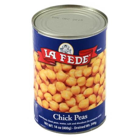 La Fede Italian Chickpeas, Garbanzano Beans, 14 oz | 400g Can