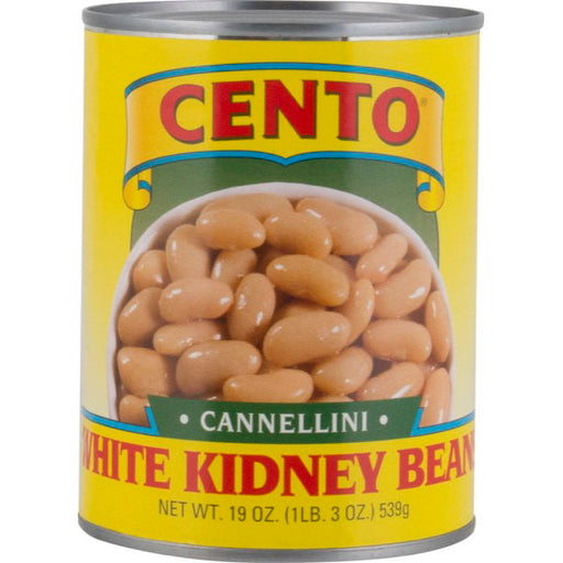 Cento Cannellini, White Kidney Beans, 19 oz | 539g Can
