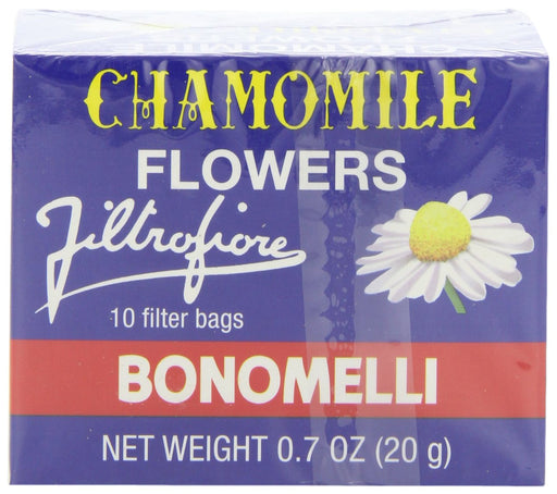 Bonomelli Chamomile Tea, 10 Bags, 0.7 oz (20 g)
