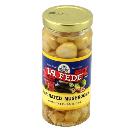 La Fede Marinated Mushrooms, 8 fl oz