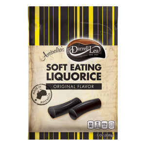 Australia's Darrell Lea Soft Eating Liquorice Original, 7 oz