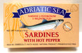 Adriatic Sea Sardine with Hot Pepper, 115g