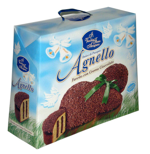 Vecchio Forno Agnello filled w/ chocolate cream 750 gr