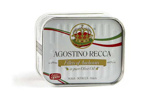 Agostino Recca Anchovy Filltes in Olive Oil -  310g