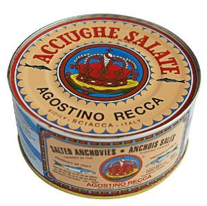 Agostino Recca Salted Anchovies 1.76 lbs
