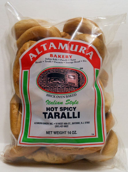 Altamura Barkery Hot Spicy Taralli, 14 oz