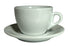 Nuova Point White Amalfi Cappuccino Cups and Saucers - Set of 6