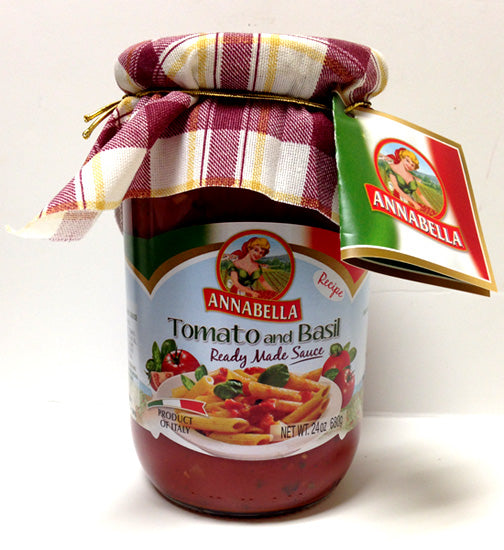 AnnaBella Tomato and Basil Sauce, 24 oz