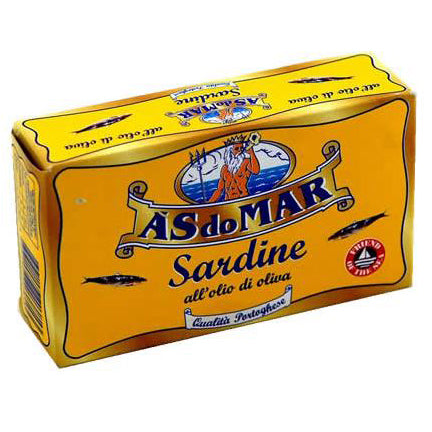 Asdomar Sardine in Olive Oil, 4.23 oz | 120g