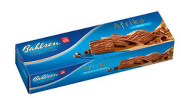 Bahlsen Afrika Wafers Coverd in Milk Chocolate, 130g