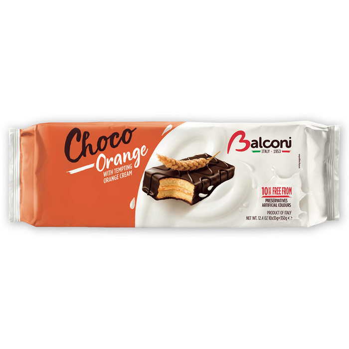 Balconi Choco Orange, 12.4 oz (350g)